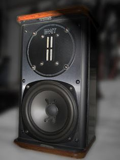 Infinity - Their most sought-after bookshelf speaker ever. Click on photo for more pics and story.