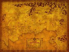 LOTR - West Gondor Map