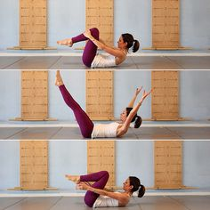 2-Minute Abs: How to do the Double Leg Stretch
