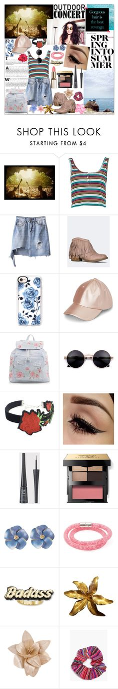 """""""We Can Do Whatever, As Long As We're Together Then We're Gonna Be Alright"""" by luvmrb61899 ❤ liked on Polyvore featuring PBteen, Charli, Boohoo, Casetify, New Look, WithChic, Bobbi Brown Cosmetics, Swarovski, Steve Madden and Tiffany & Co."""