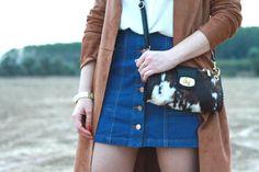 Cómo combinar una falda vaquera, el nuevo básico