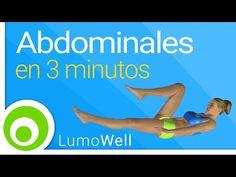 Rutina de abdominales de SOLO 3 MINUTOS para ejercitar superiores, inferiores y oblicuos (VIDEO)   Adelgazar - Bajar de Peso