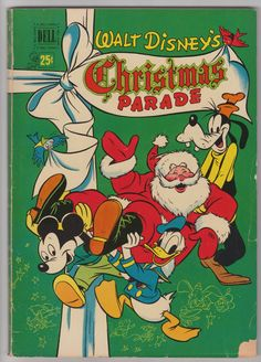 WALT DISNEY'S CHRISTMAS PARADE #2 (November, 1950)