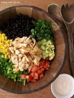 Baking with Blondie : Southwestern Chopped Chicken Salad
