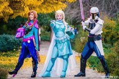 star wars disney cosplay frozen