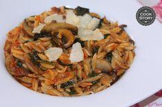 Νηστίσιμο γιουβέτσι με μανιτάρια και σπανάκι | Cookstory.gr