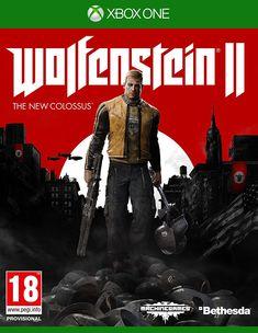Wolfenstein II: The New Colossus - Xbox One - Hra pro konzoli Jeux Xbox One, Xbox 1, Xbox One Games, Ps4 Games, Playstation Games, Games 2017, Games Consoles, Wolfenstein The New Order, Wolfenstein 2