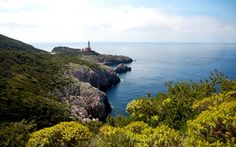 Mareggiata al Faro a Capri