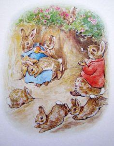 .Beatrix Potter - Peter rabbit