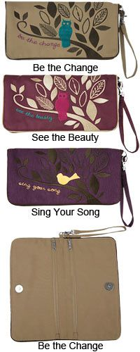 Nature's Wisdom Wristlet at The Animal Rescue Site - Funds 28 bowls of food for rescue pets too! AND fair trade!!!