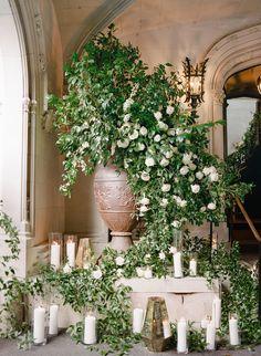 Art Floral, Indoor Wedding Decorations, Hempstead House, In Lieu Of Gifts, Floral Wedding, Wedding Flowers, Wedding Styles, Wedding Ceremony, Wedding Planner