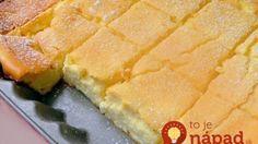 Zutaten: 500 g feine Quark 450 g Sauerrahm 100 g Butter (Raumtemperatur) 8 Eier 7 EL glattes Mehl 7 EL … Continued (Butter Brownies Cake) Sweet Recipes, Cake Recipes, Dessert Recipes, Pudding Desserts, Cottage Cheese Desserts, Cheese Pies, Butter Cheese, Czech Recipes, Gateaux Cake