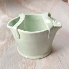 Ceramic Tooth Brush Holder Handmade Pottery by SharsArtPottery
