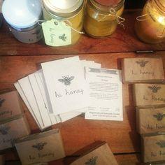 Cubit's makes custom packs like these nice packs of lemon balm seeds for Hi Honey.