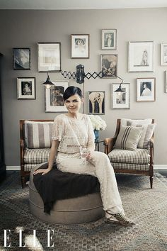 ELLE Feb '13 Goodwin 2 - This space feels like a color version of a great old black and white photography.