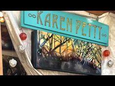 Winter Fantasy Last Weekend - Karen Petty .an artist in Laguna Sawdust Art Festival, Art Girl, Your Favorite, My Design, Fantasy, Winter, Artist, Collection, Winter Time