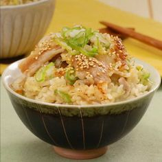「豚バラネギ塩炊き込みご飯」のレシピ動画