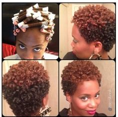 I want to make my natural hair curly