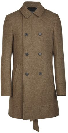 AllSaints - Brown Ceramic Coat for Men - Lyst Latest Mens Fashion, All Saints, Guy Style, Ceramics, Guys, Brown, Coat, Jackets, Stuff To Buy