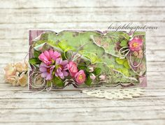 Wild Orchid Crafts: Spring card