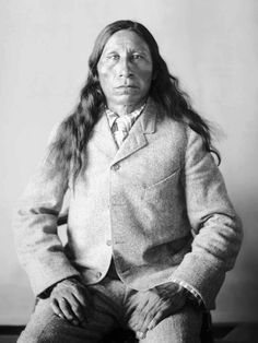 Black Heart, Oglala Sioux. Photo taken 1903.