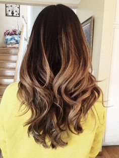 Dark ombre hair, stunning!