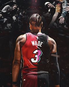 You were the catalyst for my love of Basketball 🏀Thank you 🙏 Dwade miamiheat Mvp Basketball, Basketball Shirts, Basketball Legends, Nba Pictures, Basketball Pictures, Dwyane Wade Wallpaper, Basketball Photography, Nba Wallpapers, Nba Sports