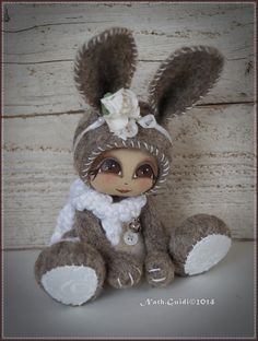 Holiday Crochet Patterns, Sewing Accessories, Fairy Art, Felt Art, Felt Ornaments, Diy Doll, Cute Dolls, Felt Animals, Fabric Dolls