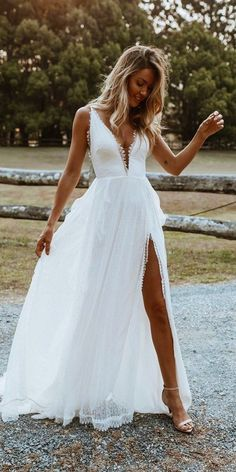 Wedding Dresses Lace Open Back Grace Loves Lace Bohemian Wedding Dresses Slit Wedding Dress, Lace Wedding Dress With Sleeves, Rustic Wedding Dresses, Best Wedding Dresses, Bridal Dresses, Dresses With Sleeves, Lace Sleeves, Outdoor Wedding Dress, Lace Bride