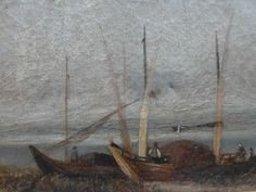 Coastal Landscape, C19th English School - Foxhouse Fine Art | Selected Works of Art, Ceramics & Glass, Jewellery & Pictures