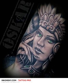 Tattoo by Oskar Figueroa
