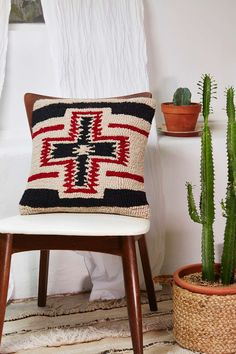 Pendleton San Miguel Pillow | Shop Home at Nasty Gal - cactus gives it a Santa Fe look