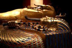 """Eine Zeitreise ins alte Ägypten des Tutanchamun macht die Ausstellung """"Tutanchamun"""" in der Linzer Tabakfabrik, die am 6. März eröffnet wird. (Bild: Weihbold)"""