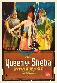 Queen of Sheba 1921 starring Betty Blythe. Matinee idol Betty Blythe capitalized on the 'roaring 20's' infatuation with exotic screen sirens to achieve a brief period of stardom. She was notoriously one of the first actresses to ever appear nude (or in various stages of undress) on screen.