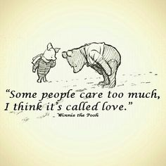 winnie the pooh. I love Winnie the Pooh.He warms my heart. Quotable Quotes, Wisdom Quotes, Quotes To Live By, Me Quotes, Funny Quotes, Qoutes, Baby Quotes, Friend Quotes, The Words