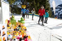 Langlauf-Charity am Kristberg in Silbertal im Montafon im März 2018 - (c) Netz für Kinder - Dietmar Mathis Charity, Snowman, Outdoor Decor, Long Distance, Kids, Snowmen
