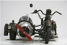 blogAuriMartini: As motos mais estranhas do mundo