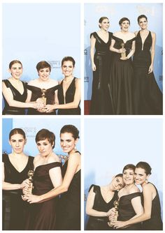 GIRLS HBO at the Golden Globes
