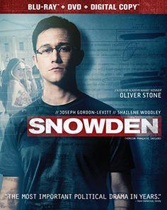 Snowden [Blu-ray + DVD + Digital HD] Universal Studios Ho...