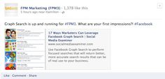Graph Search on #Facebook