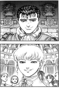 Berserk - Guts and Griffith