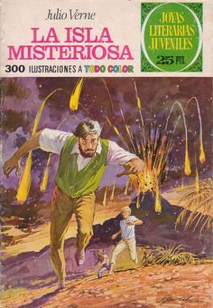 Kiosko del Tiempo (@kioskodeltiempo) | Twitter Jules Verne, Nautilus, Back To The Future, Book Cover Design, Les Oeuvres, Comic Art, Nostalgia, Art Gallery, Childhood
