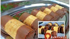 Kuhinja i ideje: Rolnice od oblandi Homemade Sweets, Homemade Cookies, Easy Desserts, Delicious Desserts, Yummy Food, Croation Recipes, Rodjendanske Torte, Croatian Cuisine, Cookie Recipes