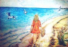 Povestea unui vultur care se credea găină | PictoLandia Albanian People, Muslim Religion, National Car, Local Color, Fine Sand, Sun Umbrella, Twelfth Night, A Day In Life, Turquoise Water