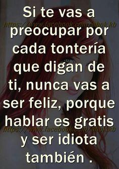 Spanish Inspirational Quotes, Spanish Quotes, Me Quotes, Funny Quotes, Naughty Quotes, Motivational Quotes, Genius Quotes, Quotes En Espanol, Proverbs Quotes