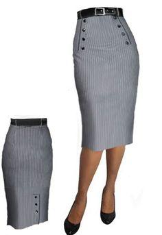 Pin Stripe Skirt