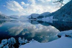 Beautiful Pillersee in Winter