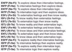 ISTJs and logic