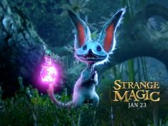 Watch Strange Magic full-Movie Online for FREE. & A love potion works its devious charms on fairies, elves and the swamp-dwelling Bog King as they all try to possess the potion for themselves. Streaming Movies, Hd Movies, Movies To Watch, Hd Streaming, Strange Magic Movie, Animation Classes, Cute Fantasy Creatures, World Tv, Thomas And Friends