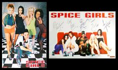 THE SPICE GIRLS Vintage Original Posters - Two-Poster Combo - Music Group UK - Bravado Group Intern